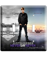 JUSTIN BIEBER NEVER SAY POSTER DOUBLE LIGHT SWI... - $9.99