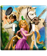 RAPUNZEL FLYNN TANGLED MOVIE DOUBLE LIGHT SWITC... - $9.99