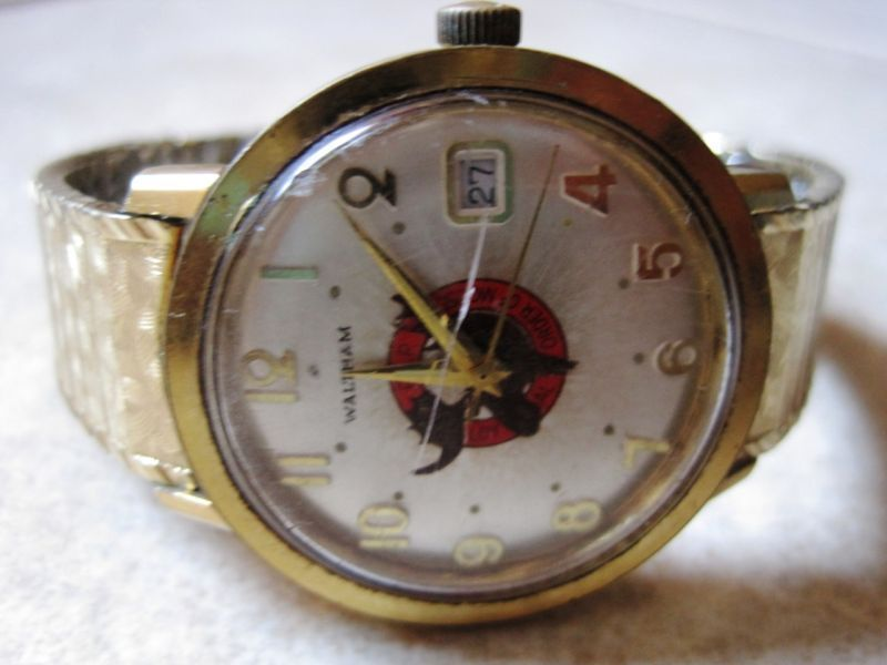 Vintage Waltham Self-windnig 17 Jewels Men's Watch RARE