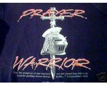 Buy Prayer Warrior Black Sweat Shirt M Sword Cross God
