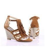 NWT 2011 Women's Wedge Sandals 3.3