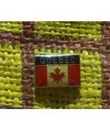 Canada Flag Pin Sovenir QUEBEC - $3.00