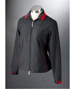 NWT Womens Callaway Golf ZOE Black Zip Jacket S... - $39.99