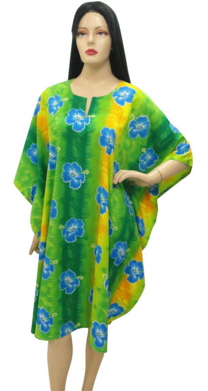 Wonderful Floral Plus size  Beach CoverUp Kaftan Caftan