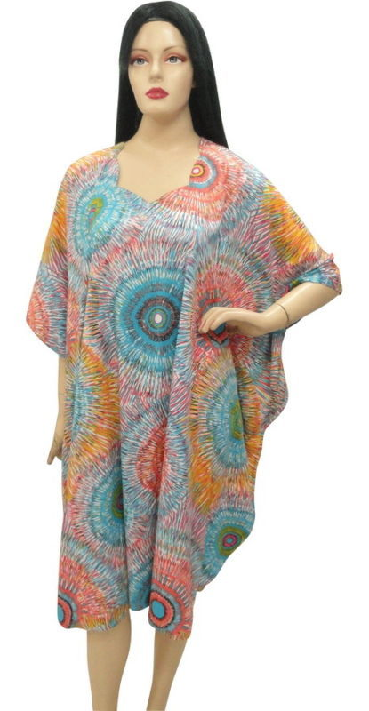 Ultimate Multi Plus Size Beach Cover Up Kaftan Caftan