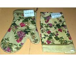 Buy WAVERLY Grapes FIORENZA Kitchen Towel & OVEN Mitt 2pc