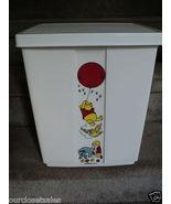 Vintage Sears Disney Winnie the Pooh Sit On Clothes Hamper - 1970's - Nursery - $115.00