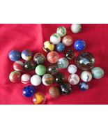 32 Vintage Marbles from 1950s - $17.99