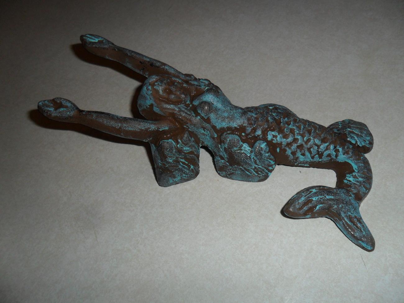 Cast Iron Mermaid Boot Kicker Hook