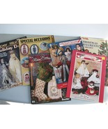 Christmas Crafts 6 books Silk Ribbon Embroidery... - $11.93