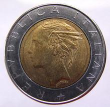 ITALY 19 Years Old 1985 Italian 500 Lire Winged... - $5.99