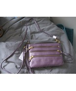 Rebecca Minkoff Purple 3-Zip Rocker