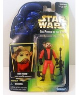 Star Wars Power of the Force Nien Nunb Green Ca... - $5.95
