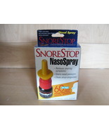 SnoreStop NasoSpray Homeopathic 100% Natural Non-Drowsy Nasal Spray NIB