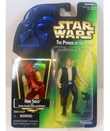 Star Wars Power of the Force Han Solo Green Car... - $6.95