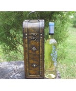 Wood Wine Box Gift Case - $30.00