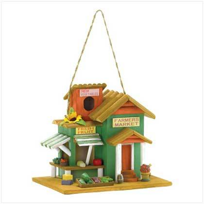 FARMERS MARKET COUNTRY BIRDHOUSE!!