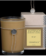 Vovivo Aromatic Glass Candle - Champaca, No. 42