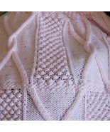 pattern for wild blackberrys and cable baby afghan - $2.50