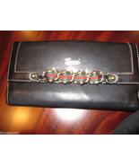 Gucci Black Leather Checkbbok Wallet  w Chain $... - $262.90