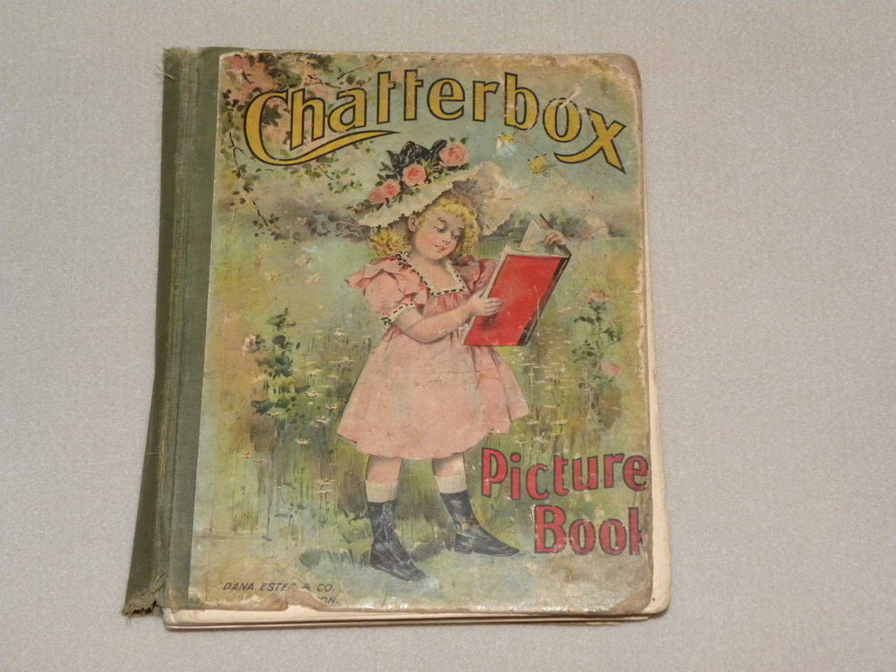 Book Childrens Chatterbox 1892 Antique
