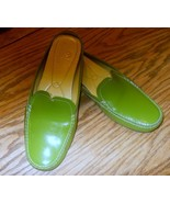 Cole Haan Green Patent Leather Mule Slide Clog ... - $39.99