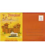 Disneyland Frontierland Vintage Postcard Folio - $7.00