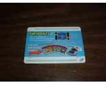 Nintendo E Reader-Air Hockey (Game Swipe Card) USA Rare