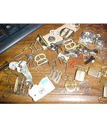 Vintage Antique Garment Fastener Garter Buckle ... - $4.00
