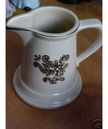 Pfaltzgraff Village Brown & Tan Milk or Cre... - $6.00