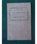 Antique Book War Department  Basic Field Manual... - $5.00
