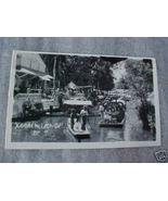 50s Photo Postcard Xochimilco Mexico Seaside Bo... - $3.50