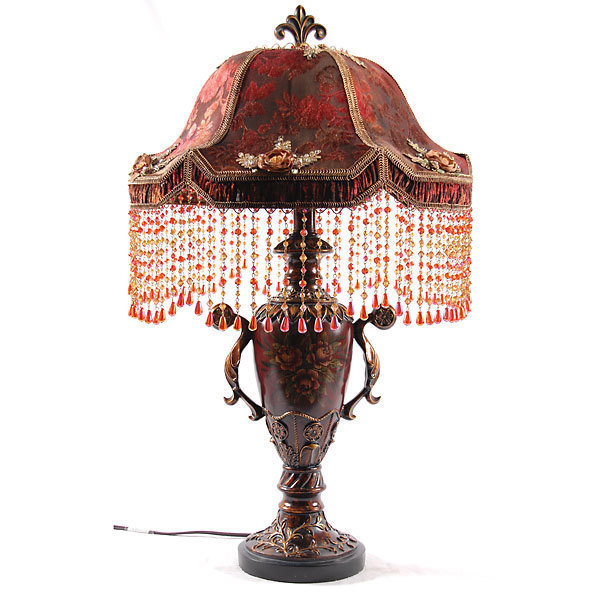Fragrant Jeweled Table Lamp