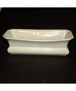 Antique Ironstone White Barbers Finger Bowl Abi... - $50.00