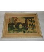 Van Doorn Pont De Malines Framed Print - $36.99