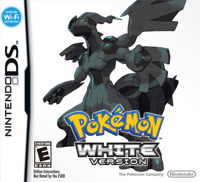 Pokemon White Version Nintendo DS game (US)