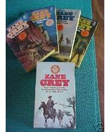 Zane Grey Vintage Boxed Set Soft Cover 4 Wester... - $7.00