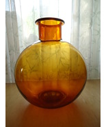 1978 Large Dartington Frank Thrower Galss Vase ... - $85.00