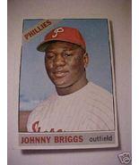 1966 Topp Johnny Briggs PA Phillies Baseball Ca... - $1.87
