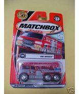 2000 MatchBox Fire Crusher MIP Number 25 2002 P... - $2.79