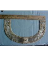 Beautiful Silver Bugle Beads Rhinestone Collar ... - $14.99
