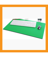 "green large mouse pad 25 x15"" neoprene 6mm padd... - $33.00"