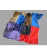 ECHO - 100% SILK - Vintage Color Block SCARF - ... - $35.00
