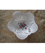 Vintage White Porcelain Lace Bowl  - $19.80