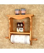 Paper Towel Holder Shelf  Country Classic  - $39.95