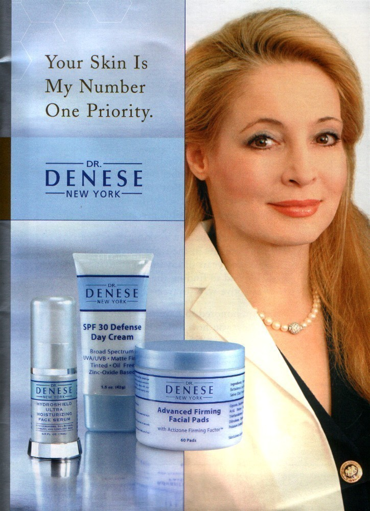 Buy skin care products - Dr. Denese New York Skin Care Face Serum/Firming Pad Kit