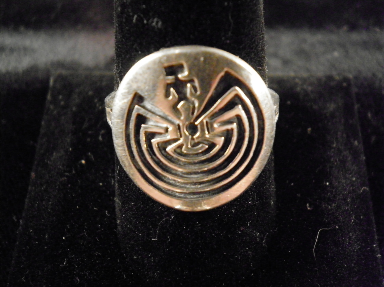Vintage Sterling Hopi Ring By Terry Wadsworth WITH APPRAISAL