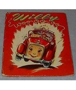 Children's Old Tell a Tale Book, Willy Woo oo oo 1951 - $9.95
