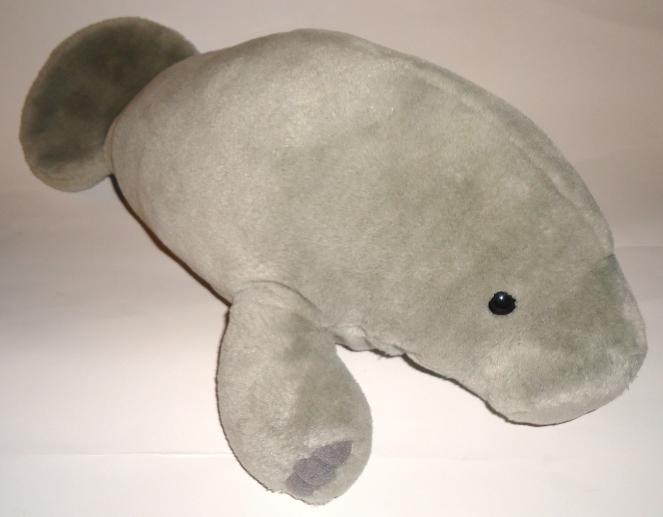 Sea World Manatee Gray Sea Cow Plush Stuffed Animal Souvenir Toy Realistic Large