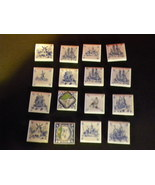 Ceramic Tiles Lot 1-1/2 Inches Square  - $16.00